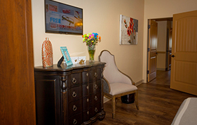 Assisted living home premiere suite at Sierra Vista Assisted Living