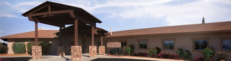 Click to see Via Elegante nursing home Sierra Vista offering Assisted Living and Memory Care professional skilled caregiving staff focused on the health and wellness of our residents
