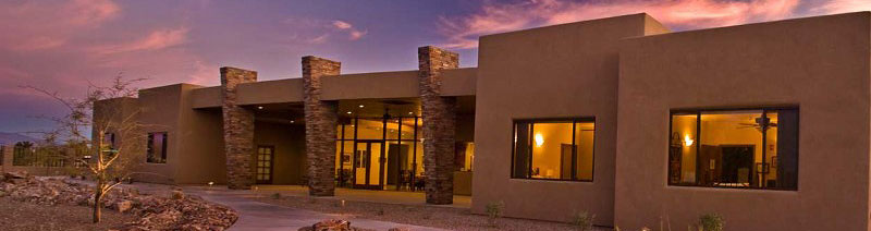 Click to see Via Elegante nursing home Tucson offering Assisted Living and Memory Care nestled within a secure campus, 10 bedrooms with private bathrooms, and serene backdrop of natural desert landscape and breathtaking mountain views.